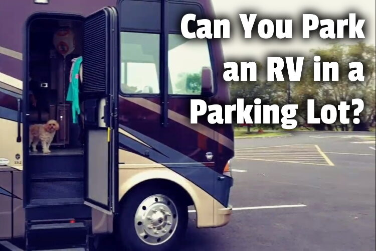 Park an RV in a Parking Lot lg