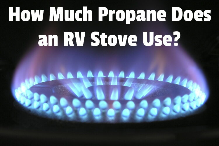 how much propane stove lg